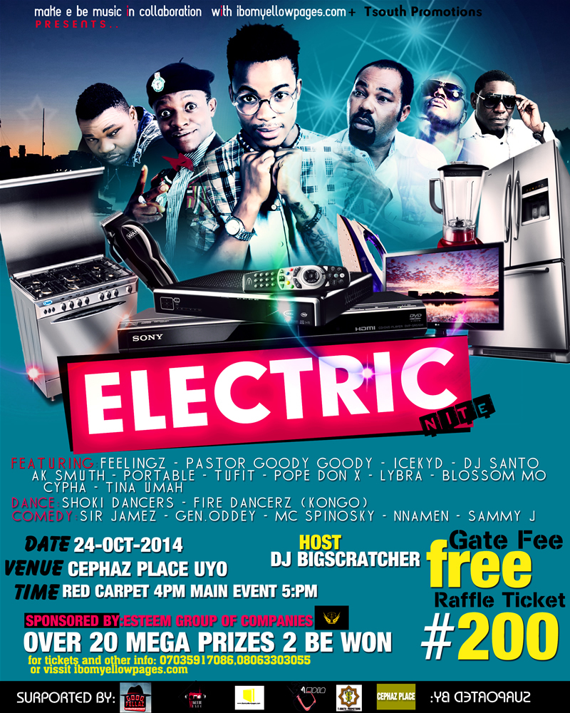 """1c7972c3d2f  Event  """"Electric Night"""" Brought To You By ( Ibomyellowpages  TSouthPromo     MakeEBeMusic)"""