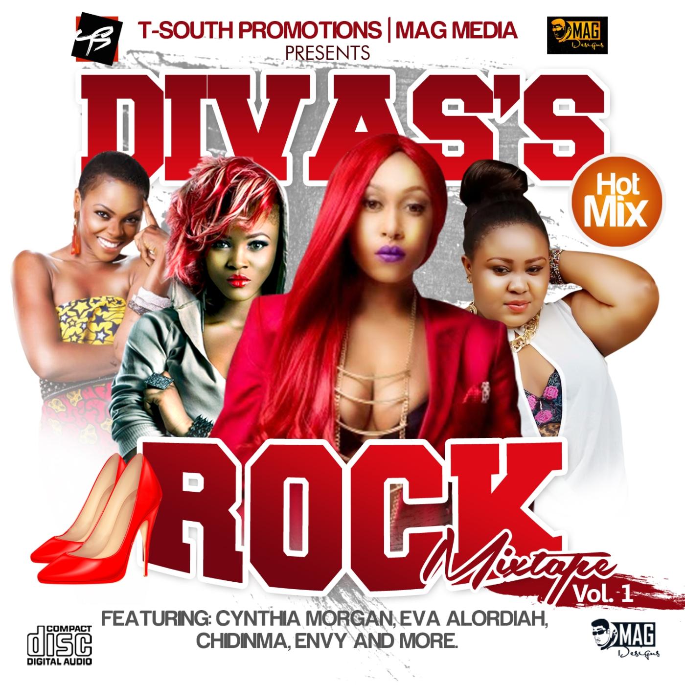 MIXTAPE ] DVE – Divas rock mixtape vol 1 – iPROMOTE-9JA BUSINESS AND